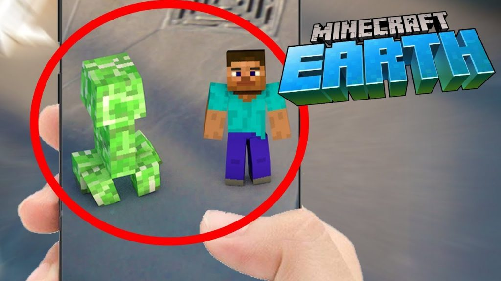 Minecraft Earth beta gameplay